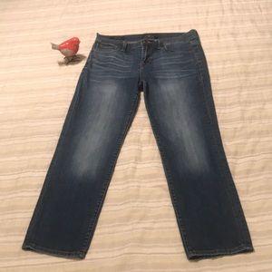 Lucky Brand Sweet Crop Jeans Size 8/29~CUTE!!!!